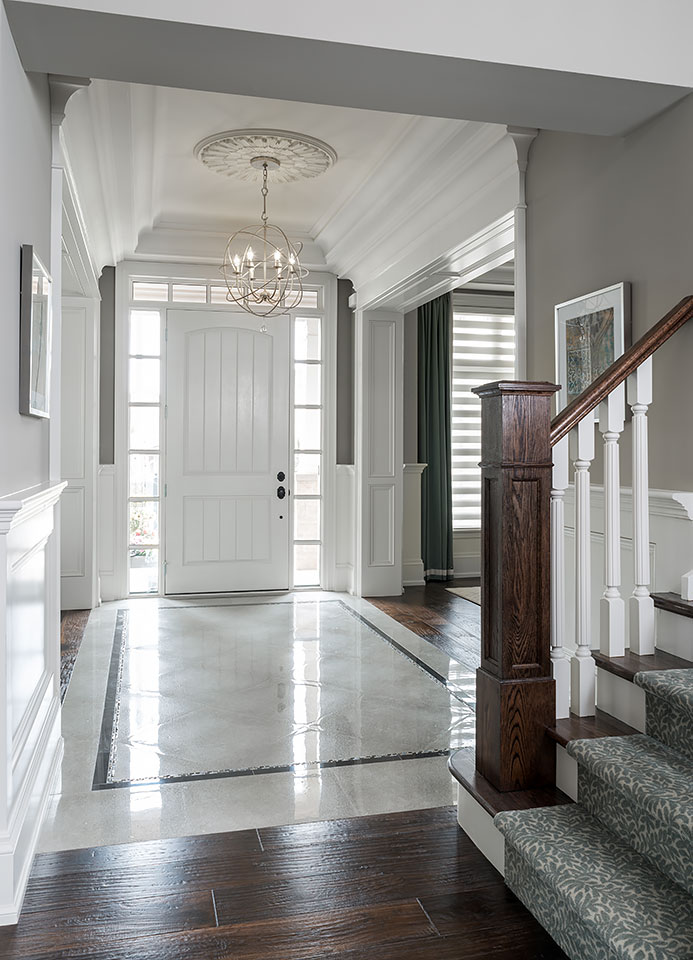 Make a better impression when guests visit your home for Entrance flooring ideas