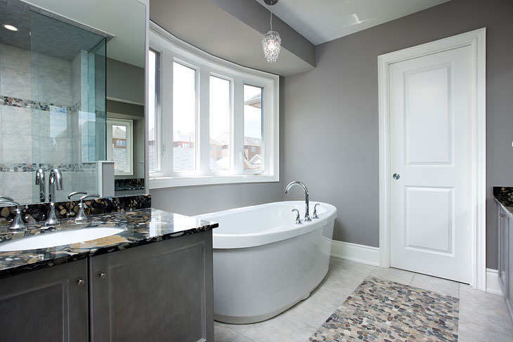 best grey paint colors for bathroom the best paint colours for your bathroom 25059