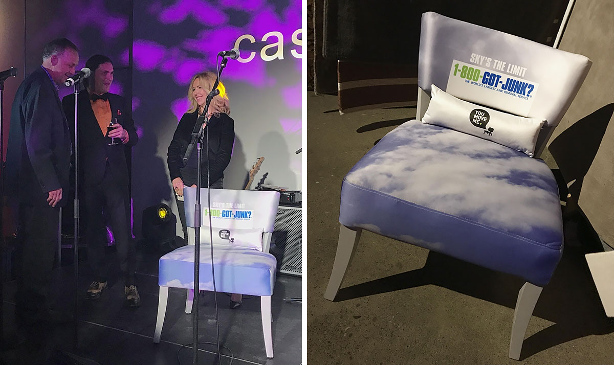 Cloud chair presentation
