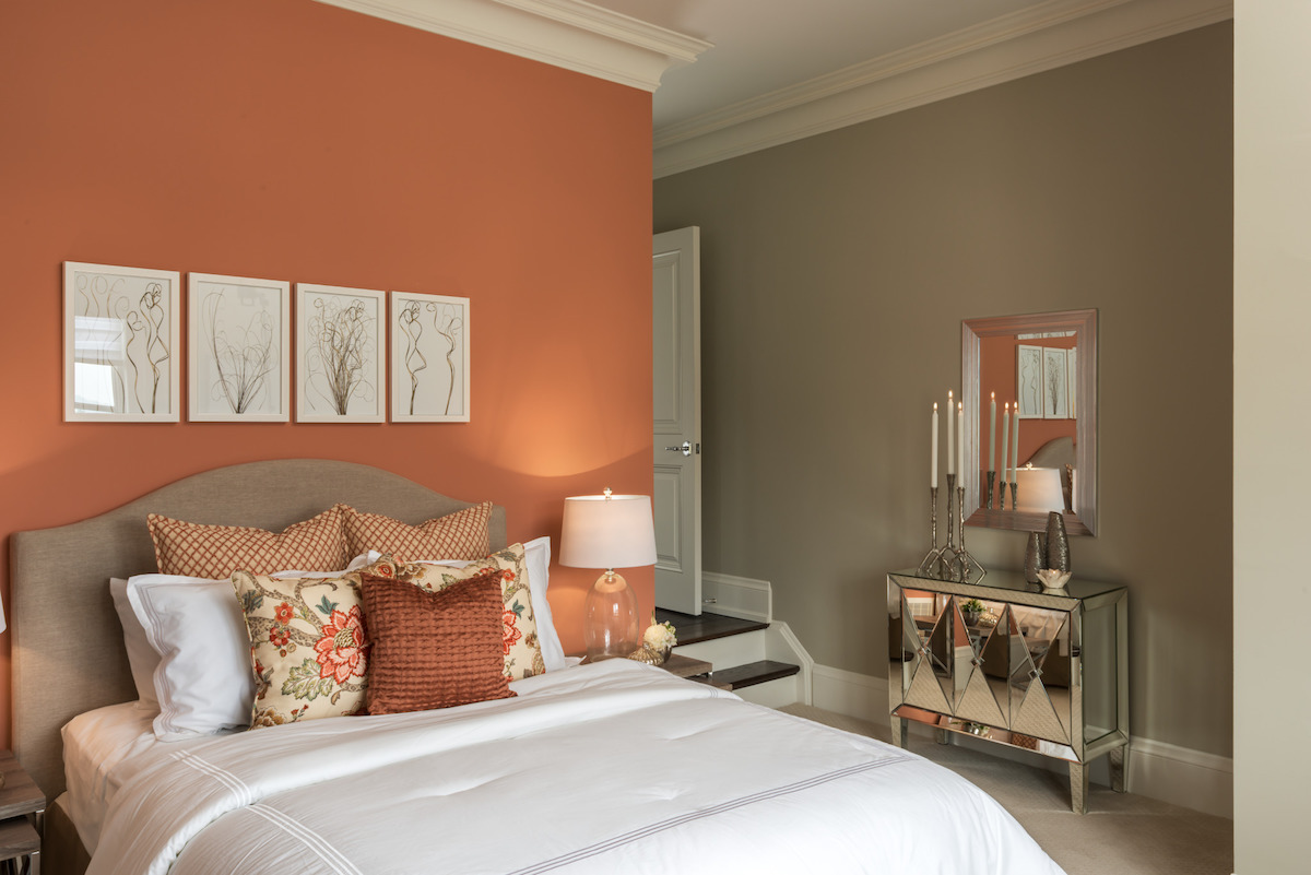 home design for the senses coral bedroom