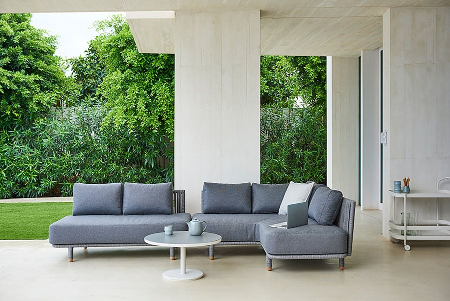 Cane Line Moments Corner And Two Seater Module Set New Standards In  Multi Flexible Design.