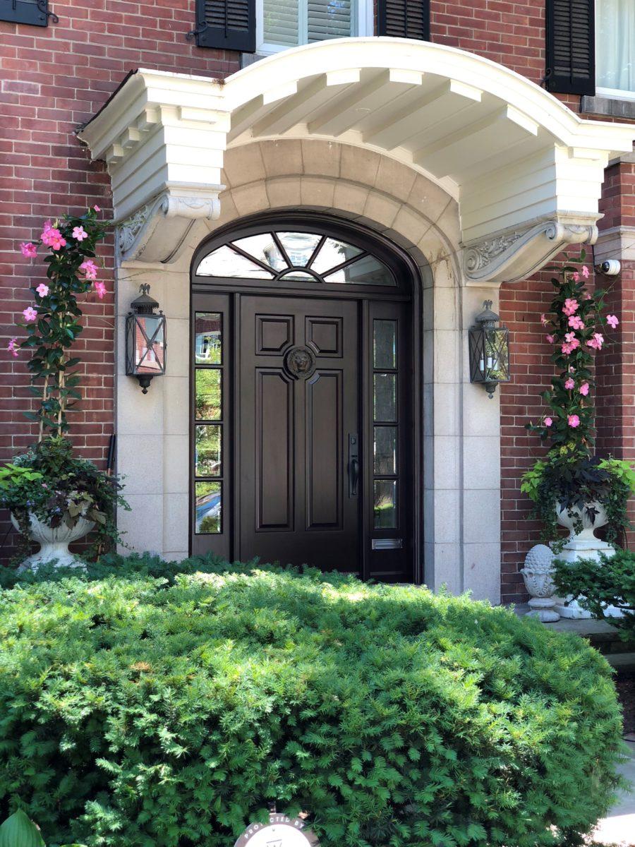 Amberwood solid wood entry door