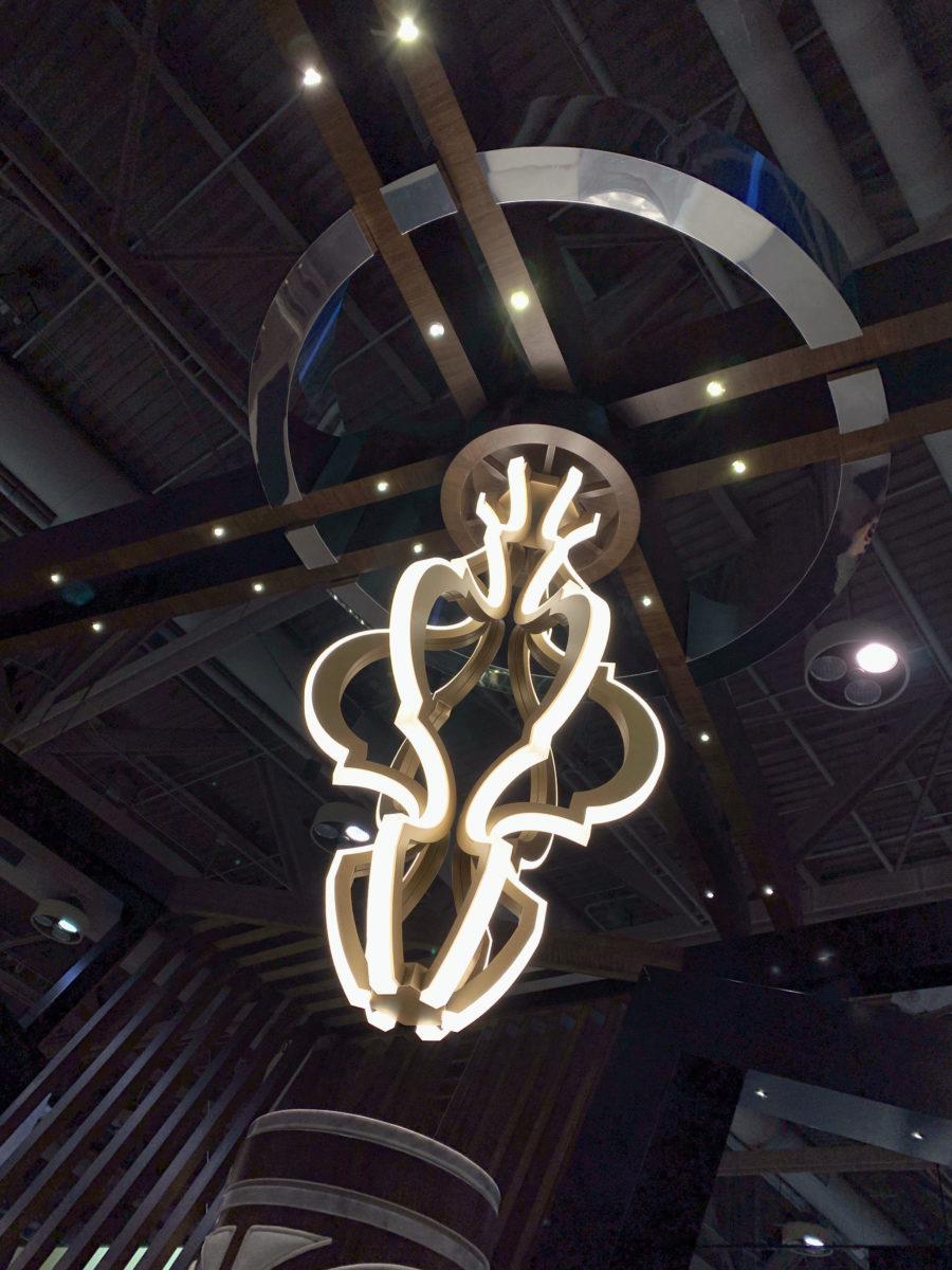 EI chandelier