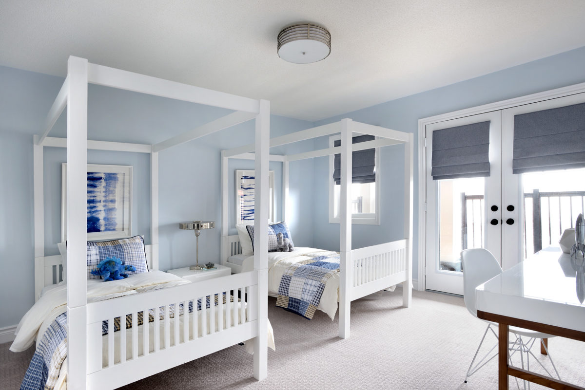 Kid's Blue bedroom