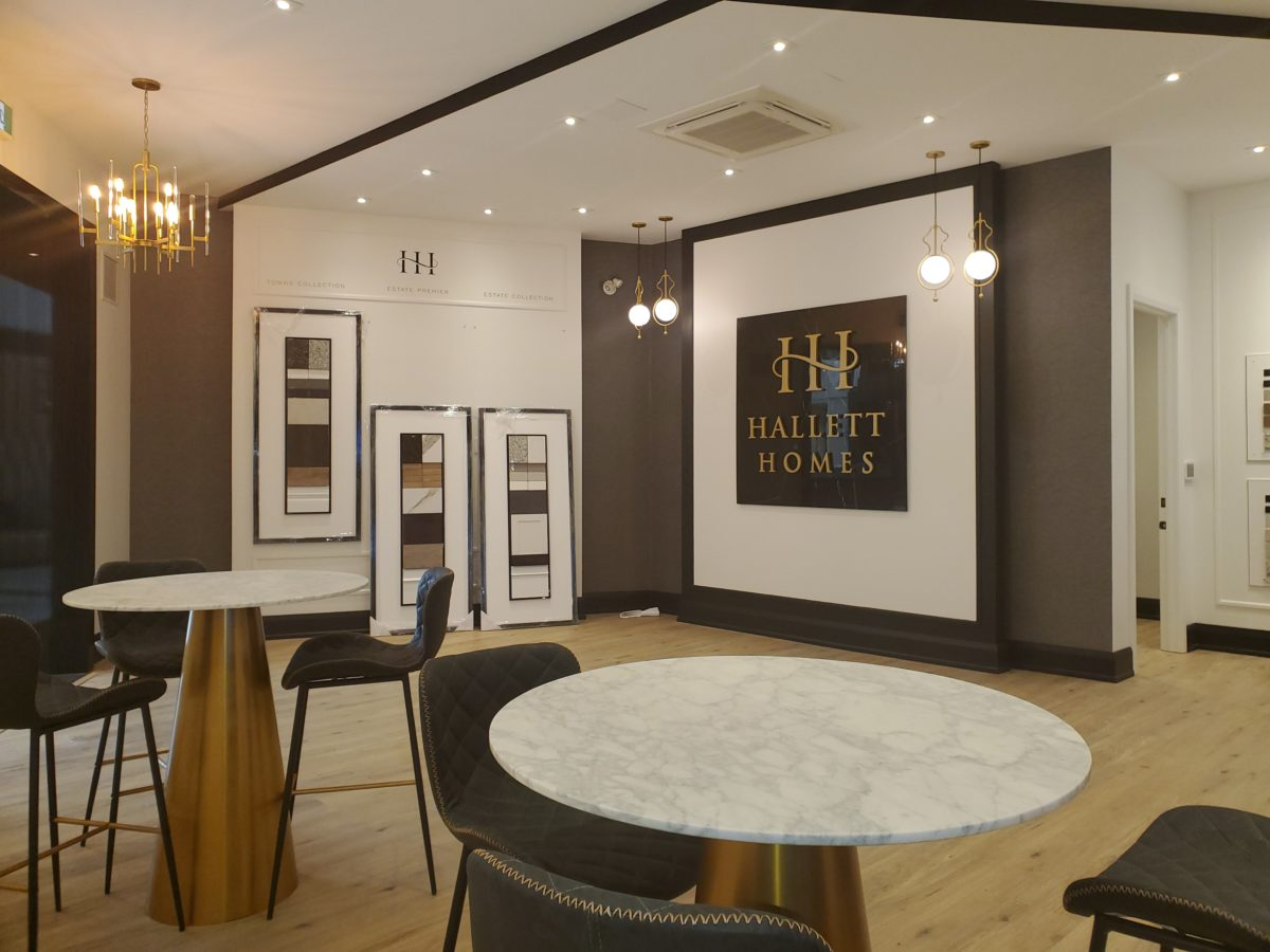 Hallett Homes' suite at Glen Abbey Encore