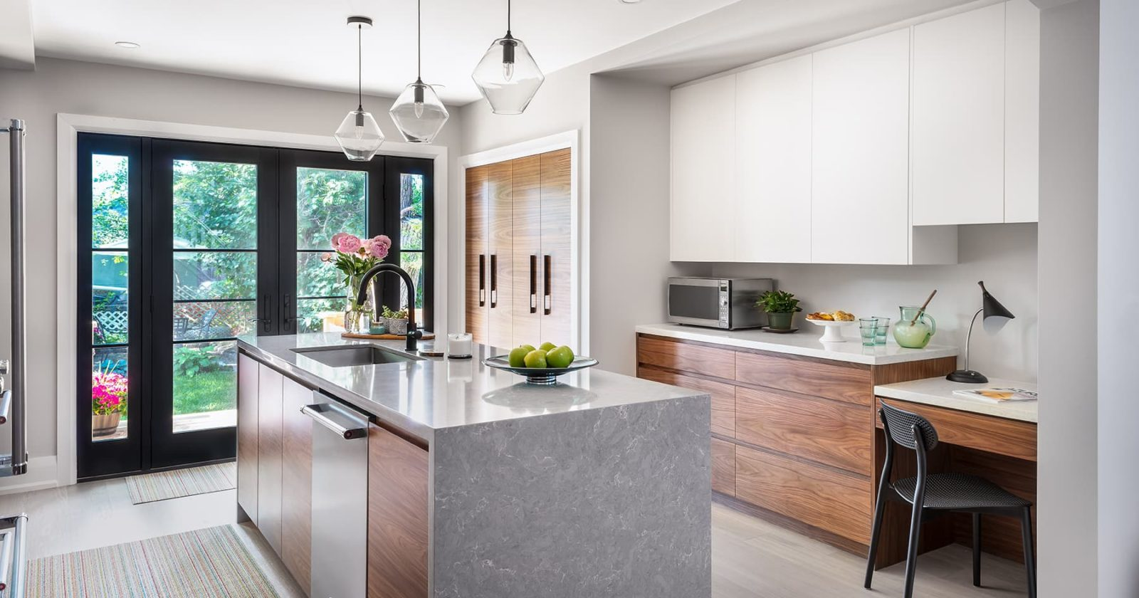 modern kitchen reno