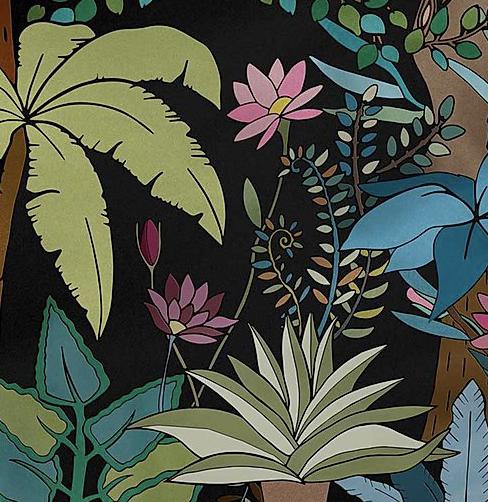 Papier 41 floral tile