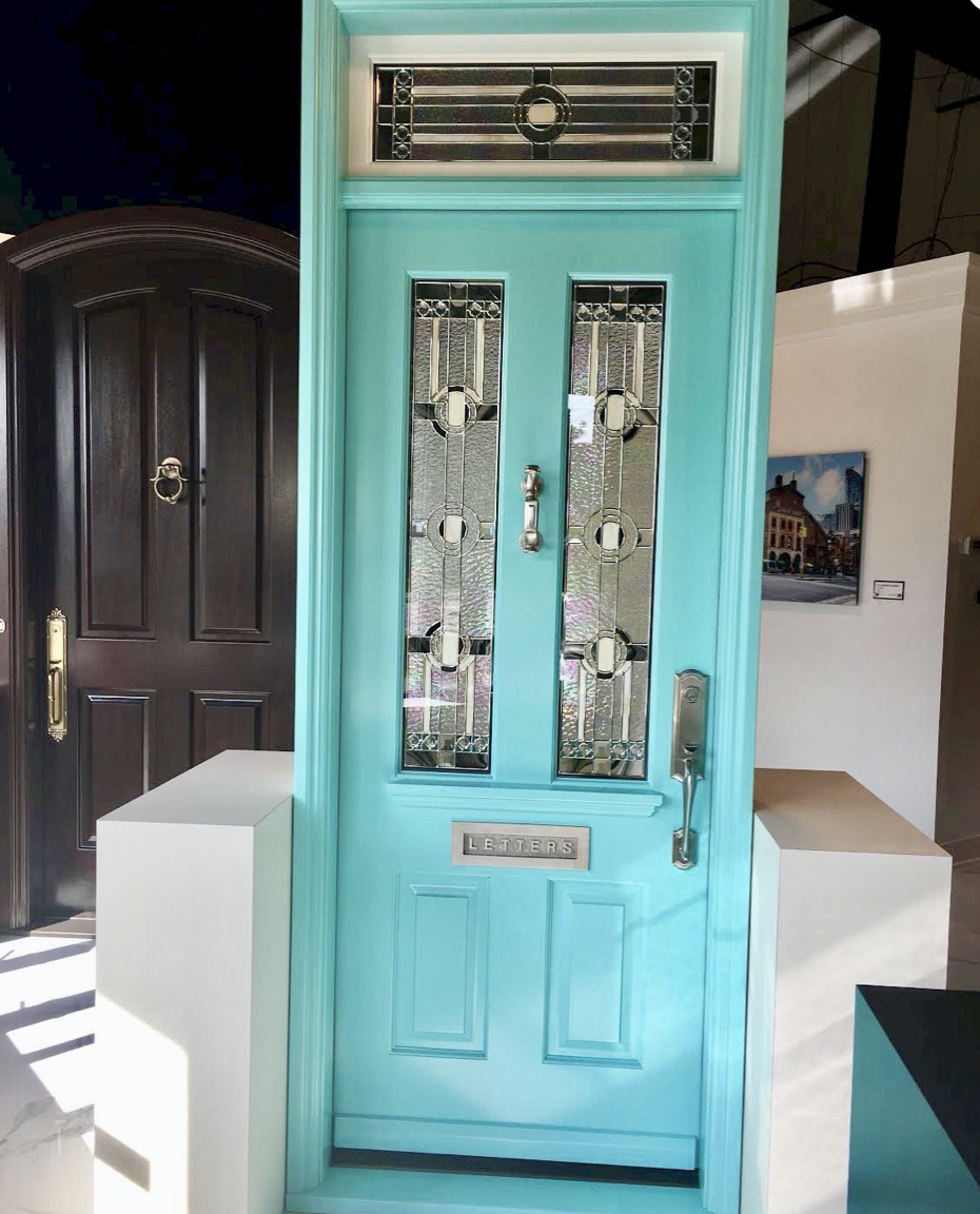 Jwelry Box Blue front door