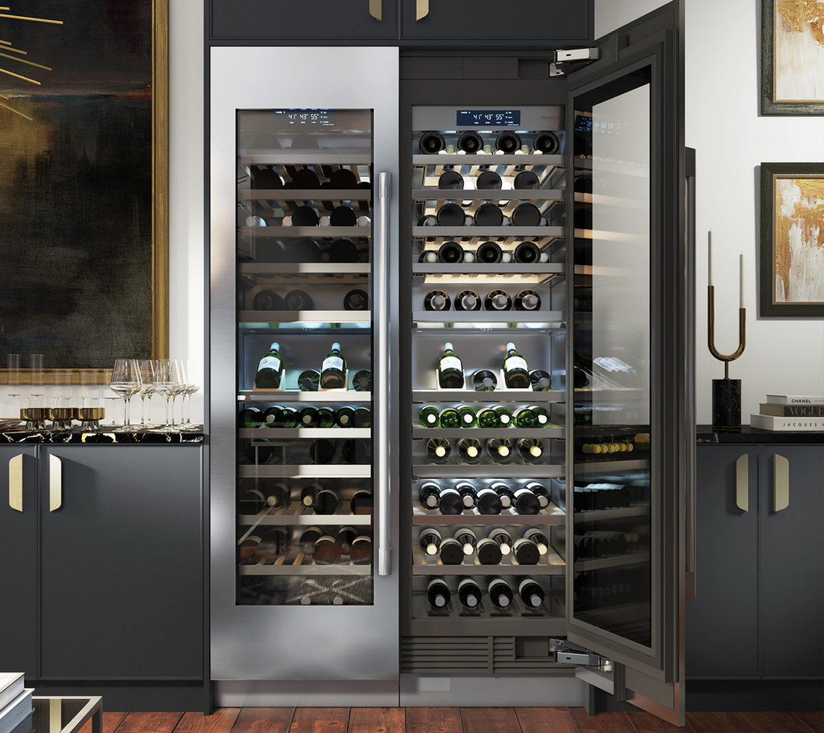 SKS Wine refrigerator columns