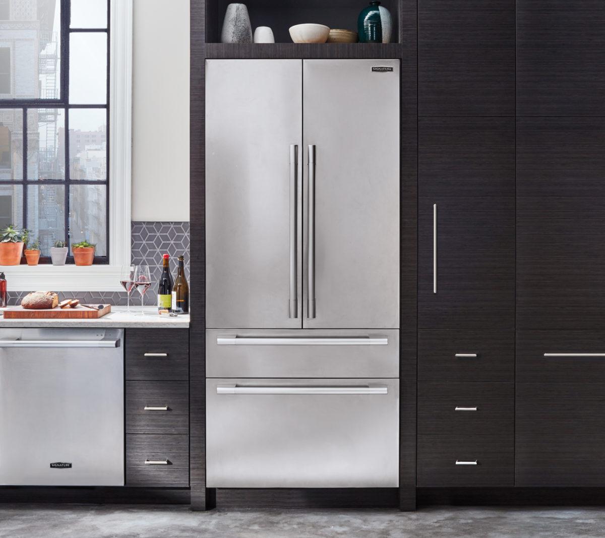 """SKS 36"""" built-in French door refrigerator"""