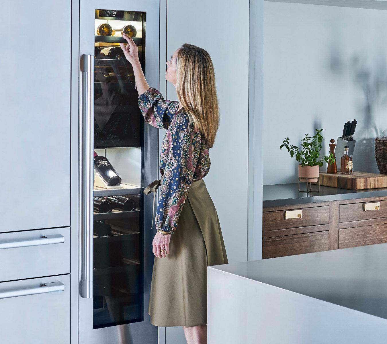 "SKS 18"" wine refrigerator column"