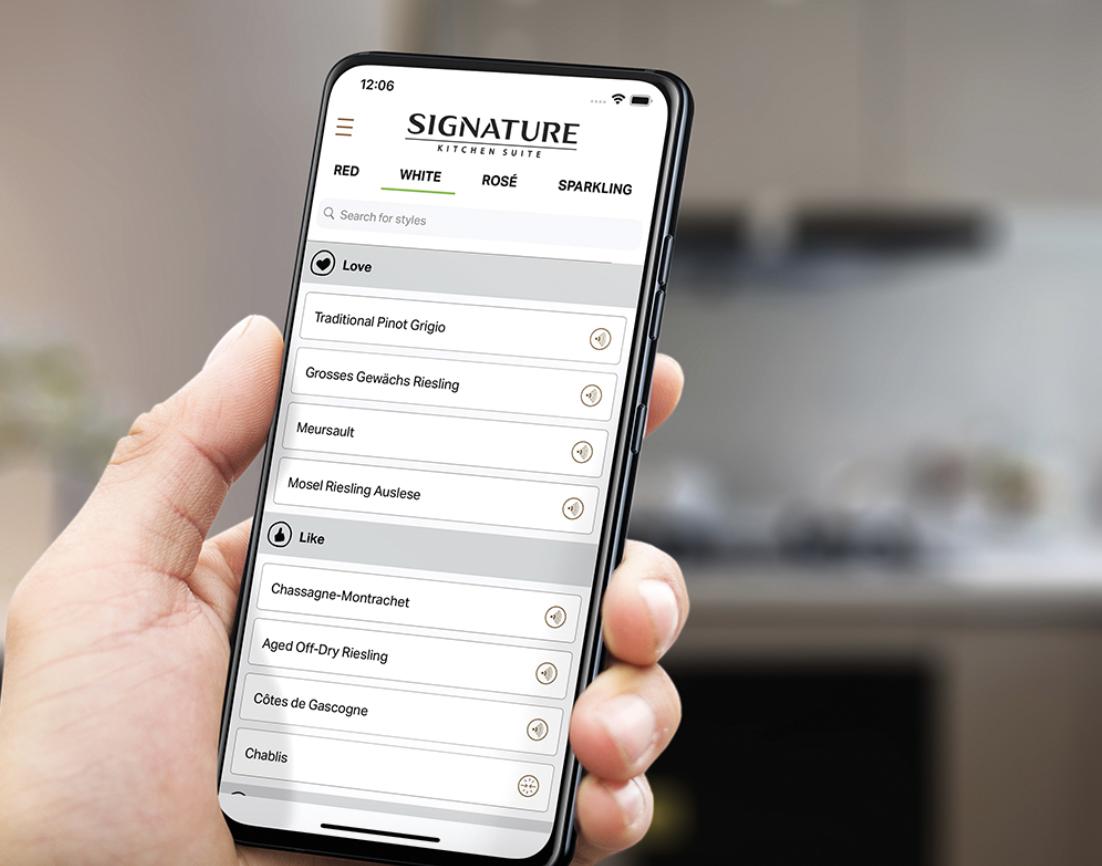 SKS Signature Sommelier app