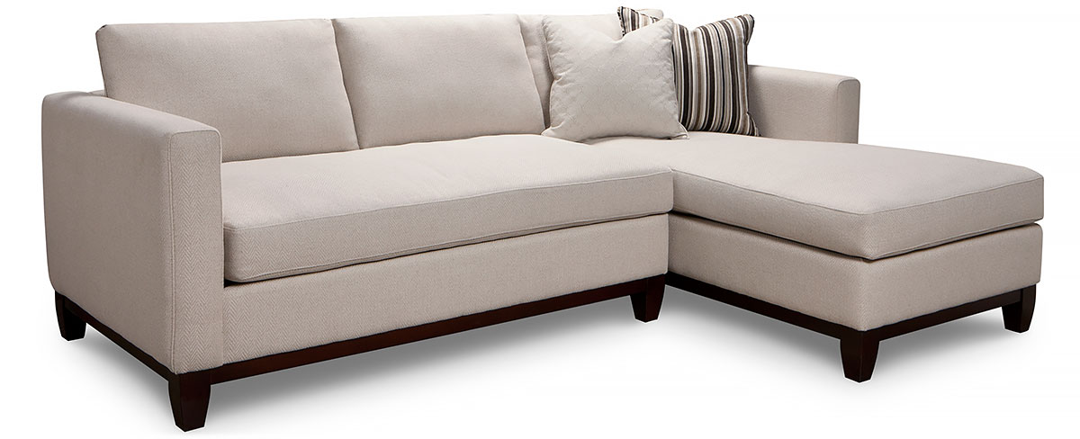 Condo Sofa Superstyle 9691 Curved Sofa Stoney Creek