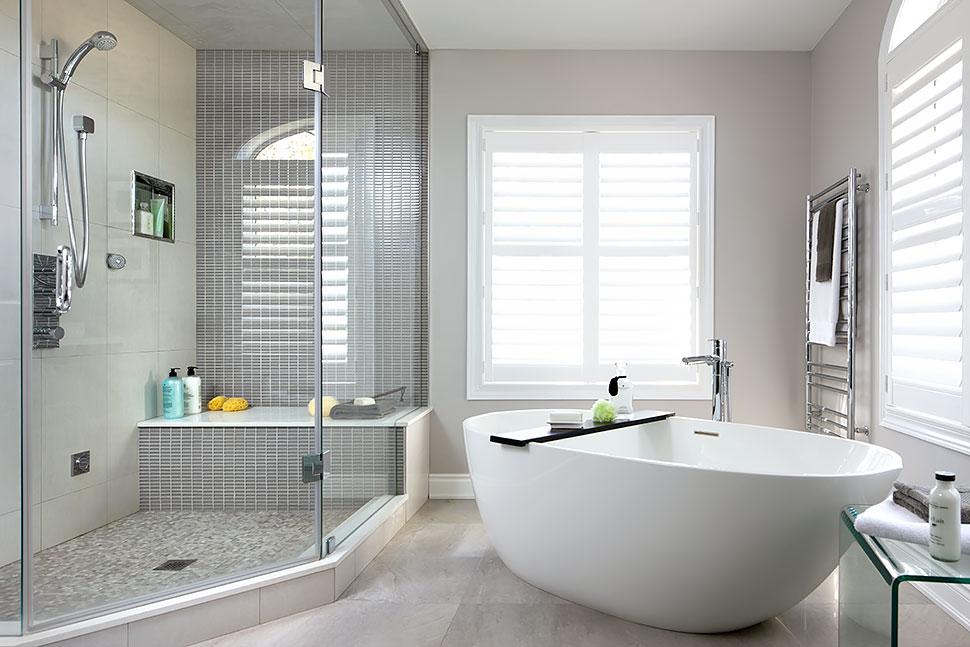 Master Bathroom Interior Design: Jane Lockhart Interior Design