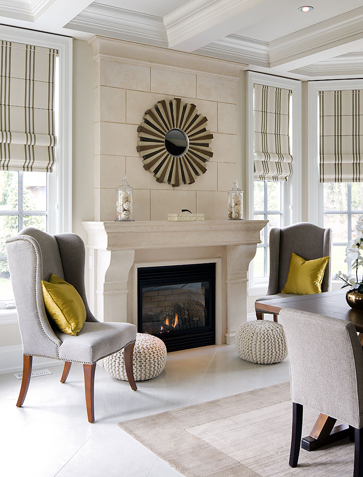 Fireplaces jane lockhart interior design for Timeless fireplace designs
