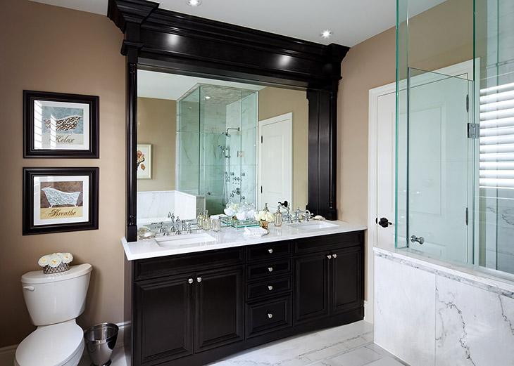 Baxter canu0027t resist a modern stand-alone bathtub. & Bathrooms   Jane Lockhart Interior Design