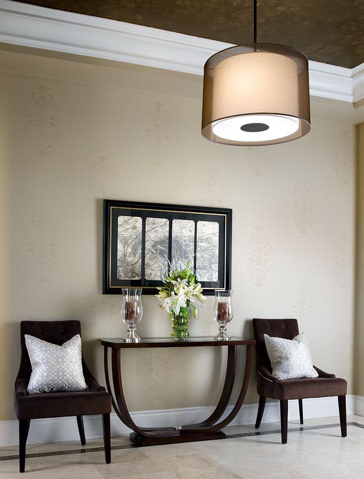Foyers hallways jane lockhart interior design for Interior decoration ideas for hall
