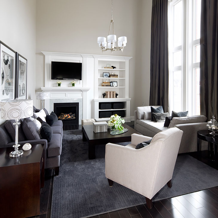 Model Home Interior Decorating: Kylemore Communities Tully Model Home