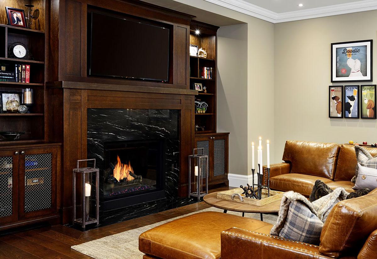 U201cThe Traditional Fireplace Mantel Adds A Timeless Elegance To A Room.u201d