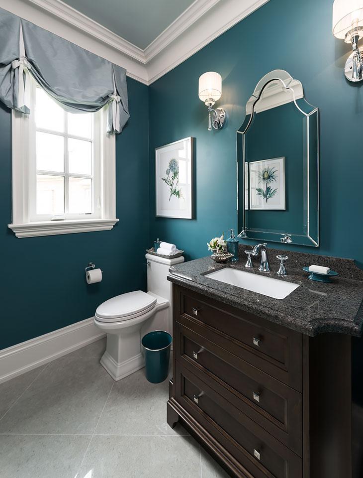 Peyton model home kylemore communities for Model home bathroom decor