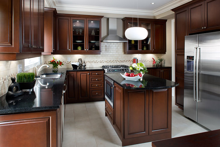 attractive interior kitchen design nice look
