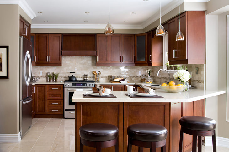 Kitchen Design: interior designs for kitchen and living ...