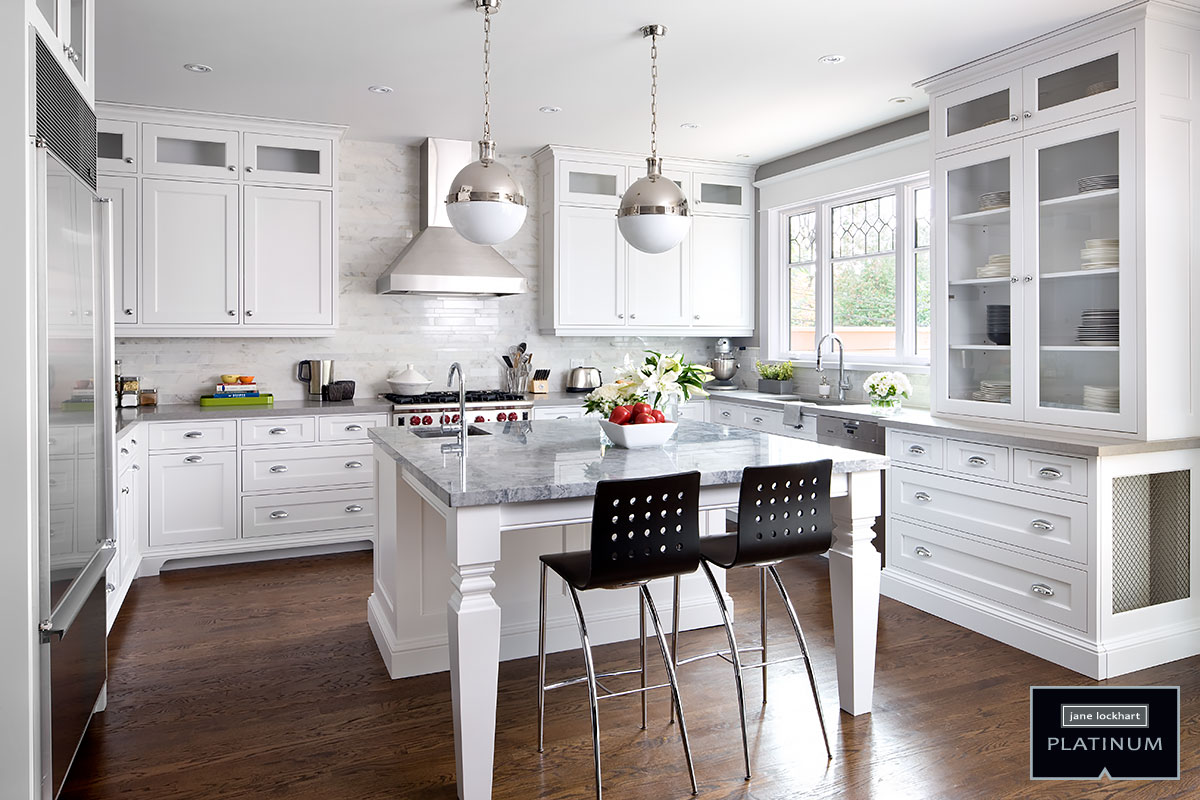 kitchen photos white cabinets. Jane Lockhart Platinum kitchen Kitchens  Interior Design