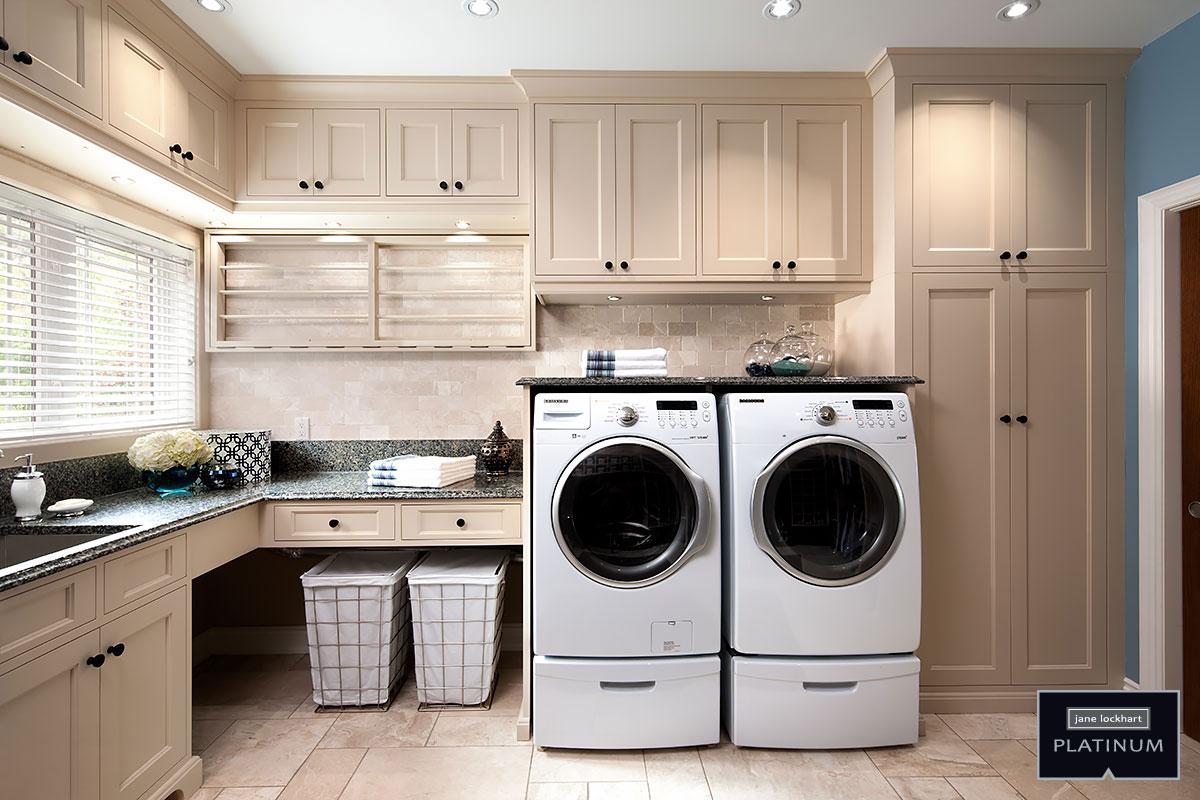 Platinum Series laundry room