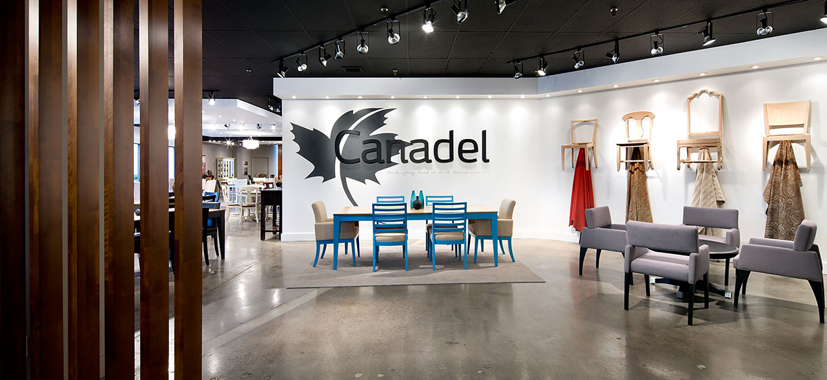 Canadel showroom